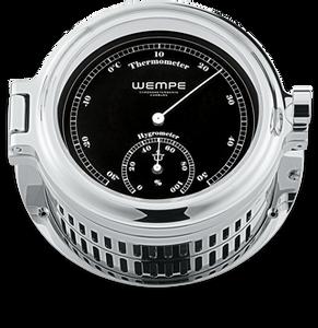 Bilde av Wempe Regatta: Termo-/hygrometer - chrome